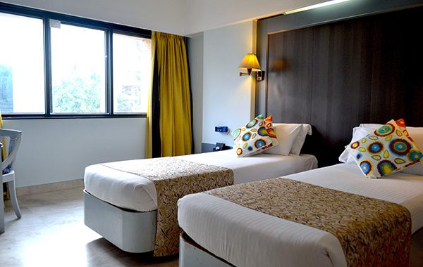 Accommodation in Mumbai, Twin Bed