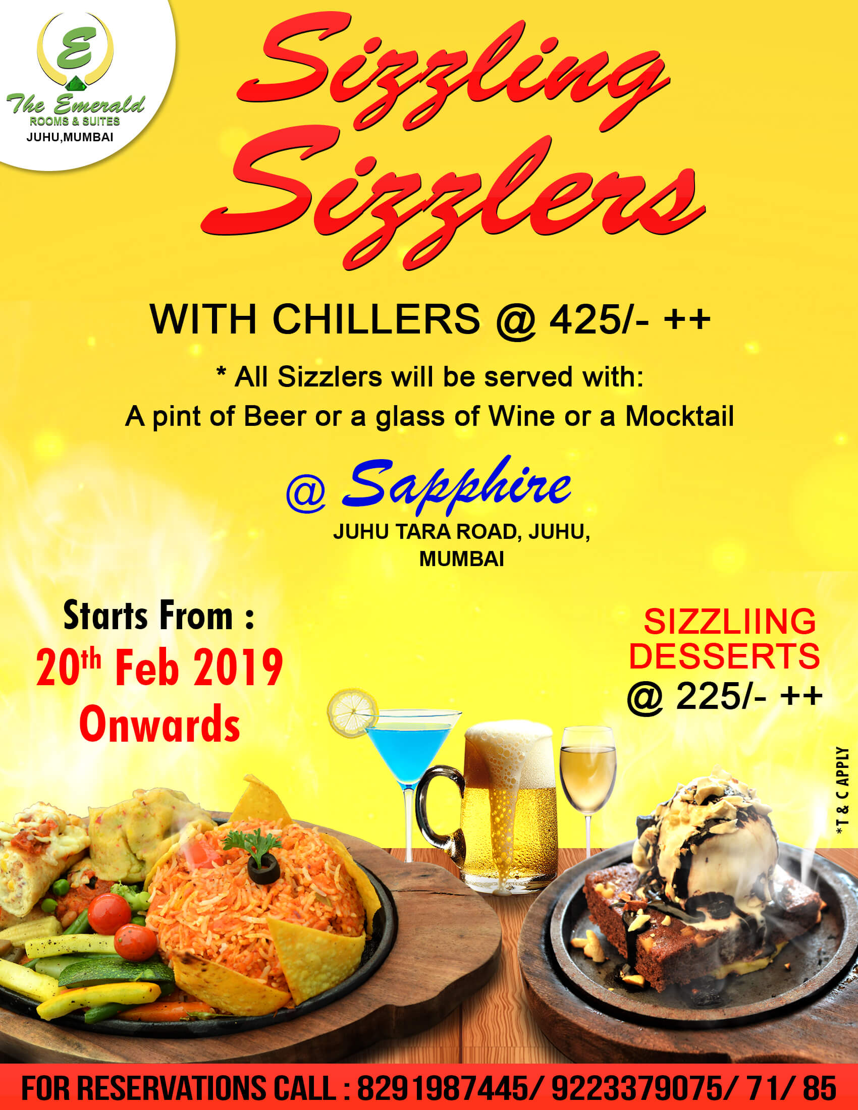 Sizzling Sizzlers