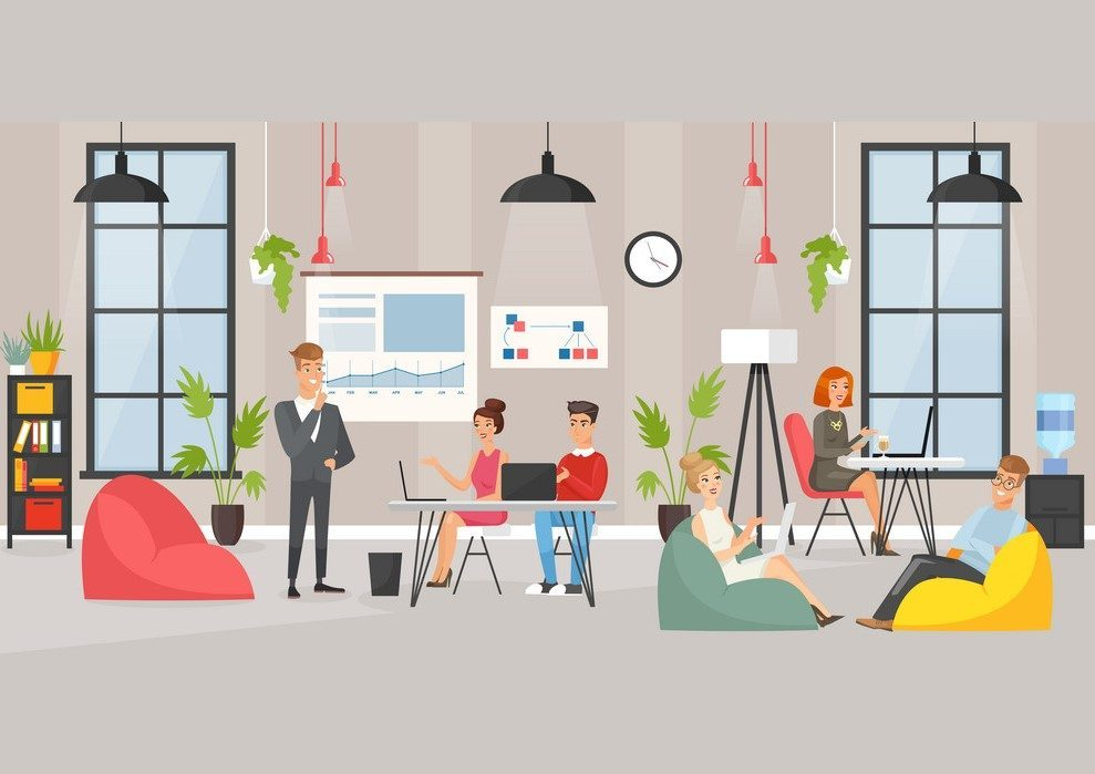 Co - working space